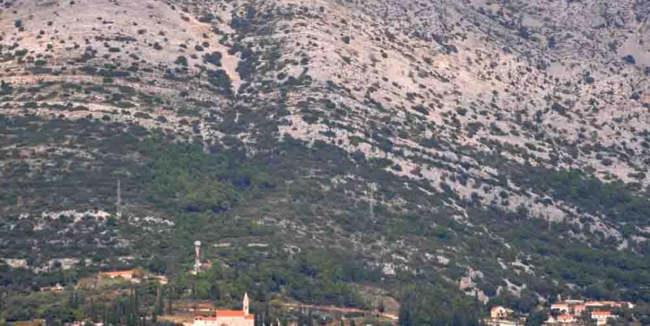 Mount Ilija on Pelješac Peninsula